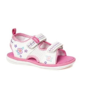 CLARKS JNR FEISTY 11 WHITE MULTI