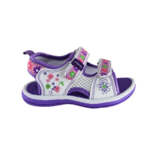 CLARKS JNR FEISTY VIOLET MULTI